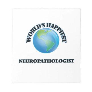 El Neuropathologist más feliz del mundo Blocs De Notas