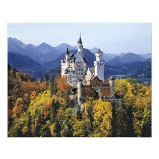 El Neuschwanstein imaginario es uno de tres Cojinete