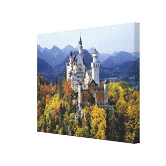 El Neuschwanstein imaginario es uno de tres Lona Estirada Galerias