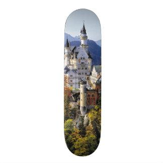 El Neuschwanstein imaginario es uno de tres Tabla De Skate