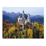 El Neuschwanstein imaginario es uno de tres Postales