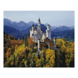 El Neuschwanstein imaginario es uno de tres Póster