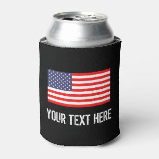 El neverita de bebidas patriótico el | de la enfriador de latas