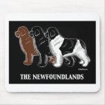 El Newfoundlands Tapete De Ratones