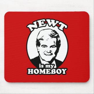 El Newt es mi homeboy Alfombrillas De Ratones
