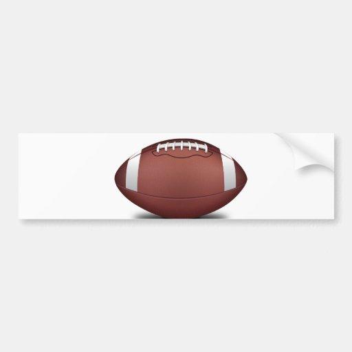 EL NFL ES USTED ALISTA PARA ALGÚN EQUIPO DE DEPORT PEGATINA DE PARACHOQUE