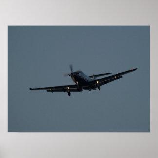 El NG de Pilatus PC-12 aterriza en NAS Oceana VA Impresiones