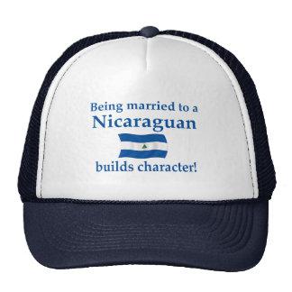 El Nicaraguan construye el carácter Gorra
