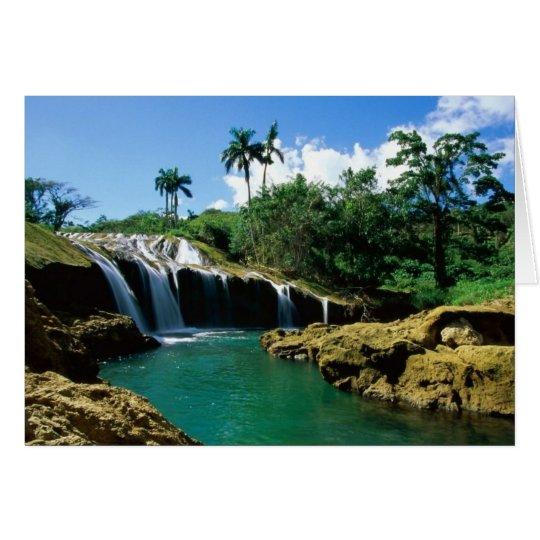 El Nicho Falls, Cuba Card