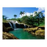 El Nicho Falls, Cuba Post Card
