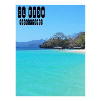El Nido in Palawan Postcard