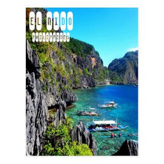 El Nido in Philippines Postcard