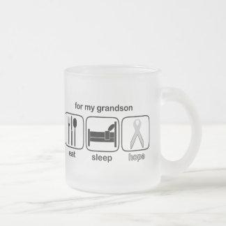El nieto come la esperanza del sueño - cáncer de taza de cristal