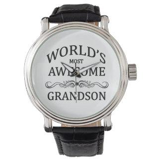 El nieto más impresionante del mundo reloj