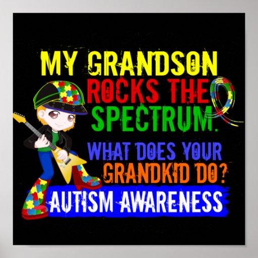 El nieto oscila el autismo del espectro poster