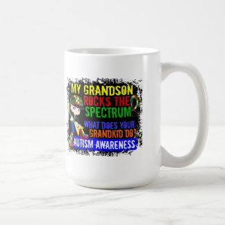 El nieto oscila el autismo del espectro taza