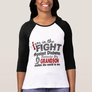 El nieto significa el mundo a mí diabetes camiseta