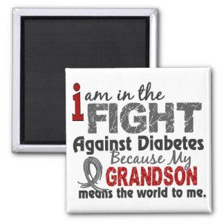 El nieto significa el mundo a mí diabetes imán de frigorifico