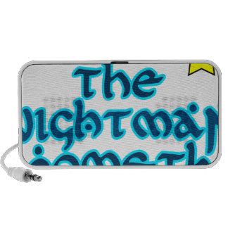 El Nightman Cometh Notebook Altavoces
