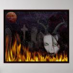 El nigromante del diablo poster