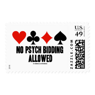 El ningún hacer una oferta de Psych permitido Sellos