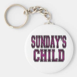 El niño de domingo llavero