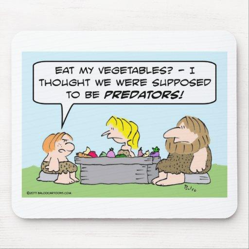El niño de la cueva no comerá verduras tapetes de raton