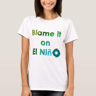 EL Nino de la culpa Playera