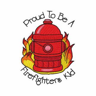 El niño del bombero polo bordado