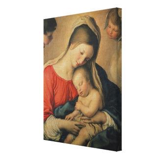 El niño durmiente de Cristo (aceite en lona) Impresiones De Lienzo