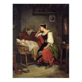El niño enfermo postales