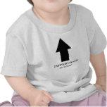 El niño es impermeable a la lógica camisetas