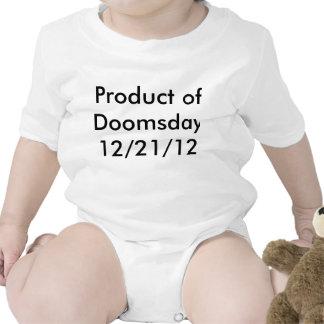 El niño es un producto del día del juicio final trajes de bebé