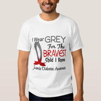 El niño más valiente sé la diabetes juvenil camisas