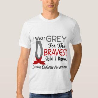 El niño más valiente sé la diabetes juvenil poleras
