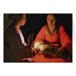 El niño recién nacido, últimos 1640s felicitación