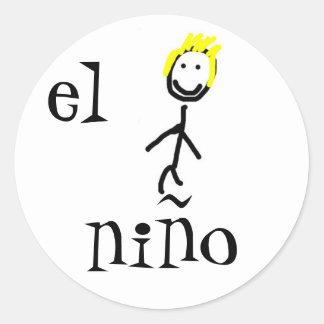 el niño Spanish Sticker