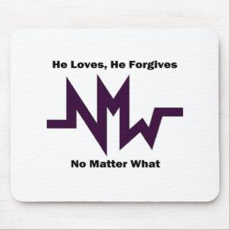 el nmw que él lo ama perdona 1 alfombrilla de ratones