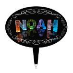El Noah conocido - nombre en las luces (fotografía Figura Para Tarta