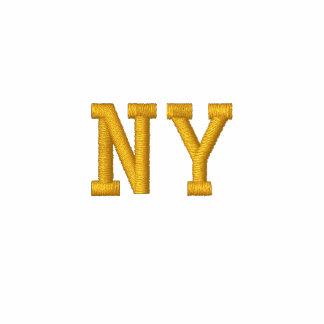 """El nombre bordado del estado """"añade su estado"""" NY Sudadera Bordada Con Serigrafia"""