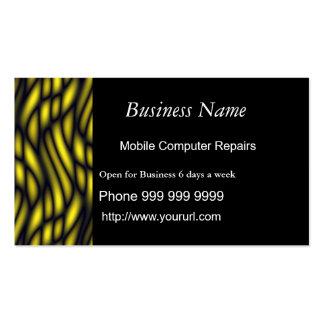 El nombre comercial, ordenador móvil repara… tarjetas de visita
