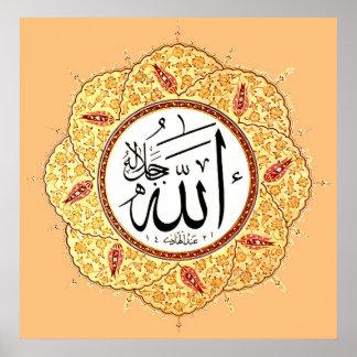 El nombre de Alá de Hafiz Osman Poster