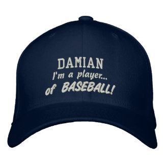 El nombre de encargo del jugador de béisbol se gorras de beisbol bordadas