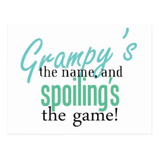El nombre de Grampy Tarjetas Postales