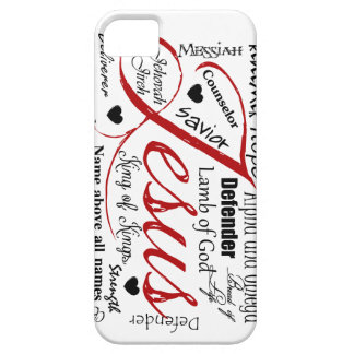 El nombre de Jesús iPhone 5 Protector