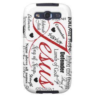 El nombre de Jesús Samsung Galaxy S3 Coberturas