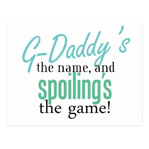 El nombre de los G-Papás Tarjeta Postal