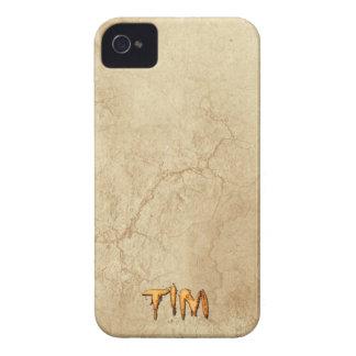El nombre de TIM personalizó la caja del teléfono  iPhone 4 Protector