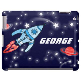 El nombre embroma el caso del ipad de la marina de funda para iPad