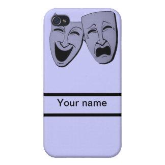 el nombre temporario del personalizar del teatro y iPhone 4/4S fundas